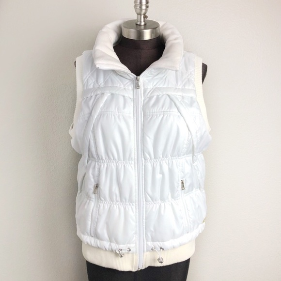 6a52e9a50261 Calvin Klein Jackets & Blazers - Calvin Klein Performance White Puffy  Puffer Vest